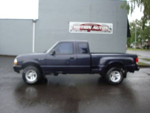 1999 Ford Ranger for sale at Motion Autos in Longview WA