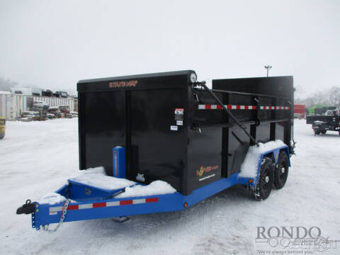 2021 BWISE Dump DU14-15 for sale at Rondo Truck & Trailer in Sycamore IL