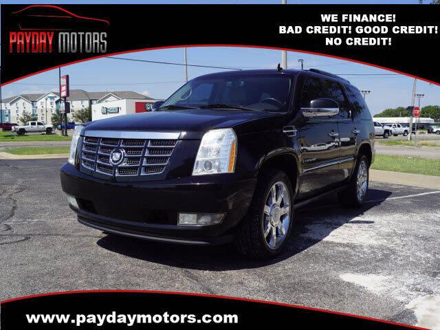 2009 Cadillac Escalade for sale at Payday Motors in Wichita KS