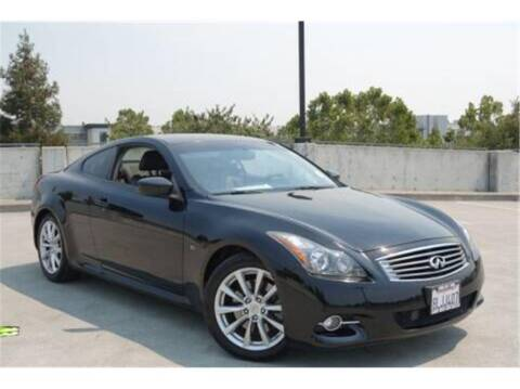 2014 Infiniti Q60 Coupe for sale at BAY AREA CAR SALES in San Jose CA