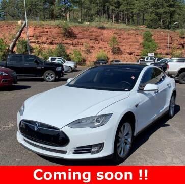 2015 Tesla Model S for sale at INDY'S UNLIMITED MOTORS - UNLIMITED MOTORS in Westfield IN