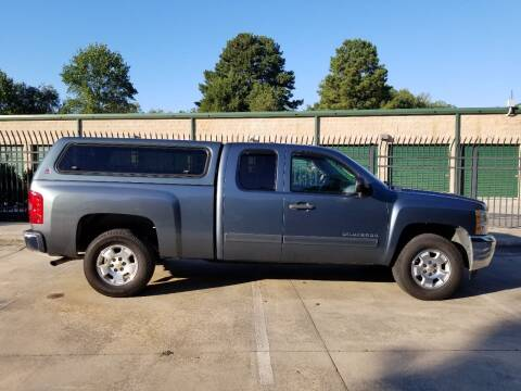 2012 Chevrolet Silverado 1500 for sale at Hollingsworth Auto Sales in Wake Forest NC