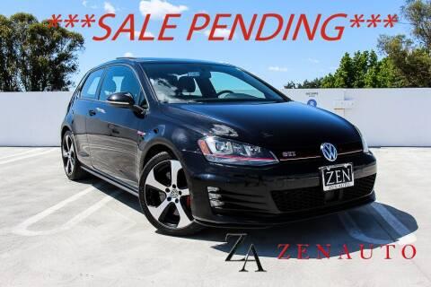2015 Volkswagen Golf GTI for sale at Zen Auto Sales in Sacramento CA