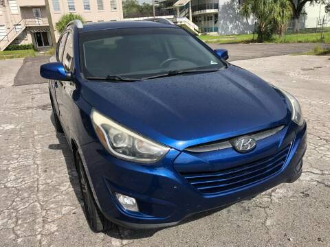 2014 Hyundai Tucson for sale at Consumer Auto Credit in Tampa FL