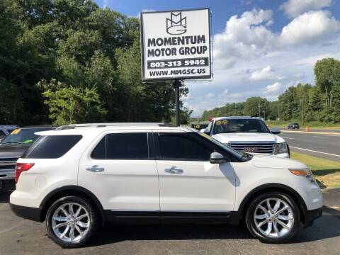 2012 Ford Explorer for sale at Momentum Motor Group in Lancaster SC