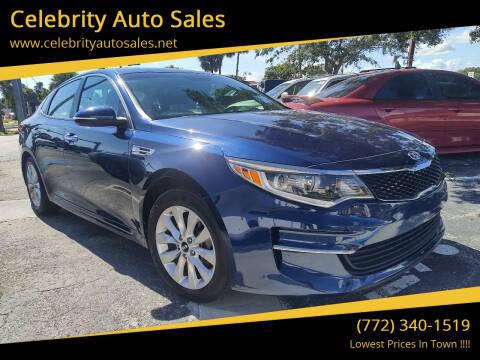 2017 Kia Optima for sale at Celebrity Auto Sales in Fort Pierce FL