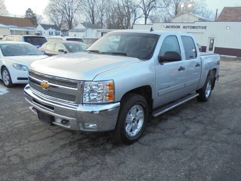 2013 Chevrolet Silverado 1500 for sale at Eyler Auto Center Inc. in Rushville IL