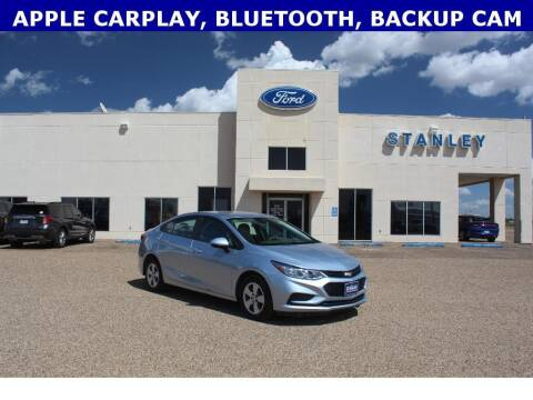 2018 Chevrolet Cruze for sale at STANLEY FORD ANDREWS in Andrews TX