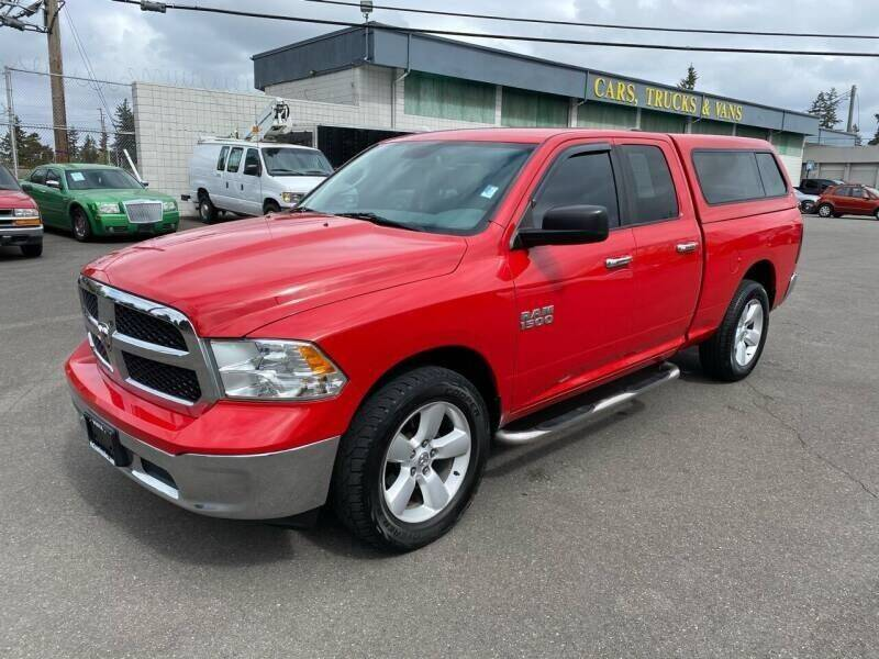 2013 RAM Ram Pickup 1500 for sale at TacomaAutoLoans.com in Lakewood WA