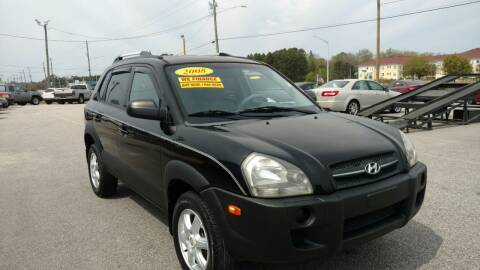 2008 Hyundai Tucson for sale at Kelly & Kelly Supermarket of Cars in Fayetteville NC