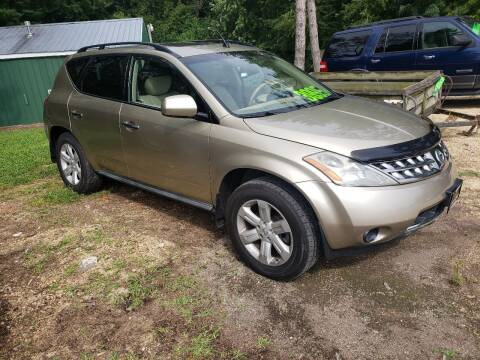 2007 Nissan Murano for sale at Northwoods Auto & Truck Sales in Machesney Park IL