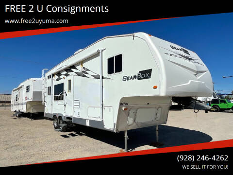 2007 Fleetwood Gearbox  for sale at FREE 2 U Consignments in Yuma AZ