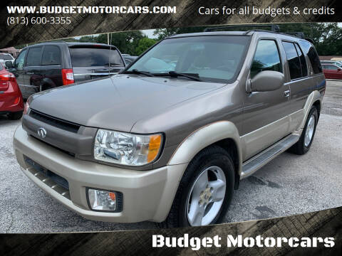 2003 Infiniti QX4 for sale at Budget Motorcars in Tampa FL