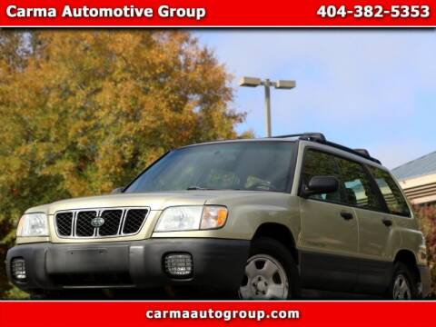 2001 Subaru Forester for sale at Carma Auto Group in Duluth GA