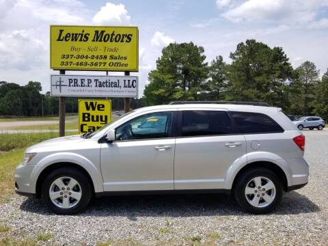 2011 Dodge Journey for sale at Lewis Motors LLC in Deridder LA