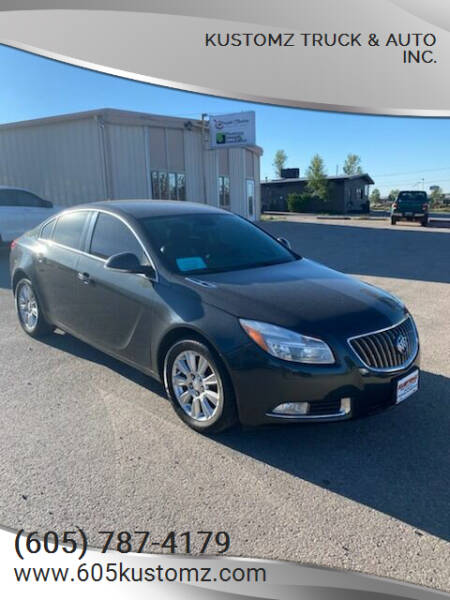 2013 Buick Regal for sale at Kustomz Truck & Auto Inc. in Rapid City SD