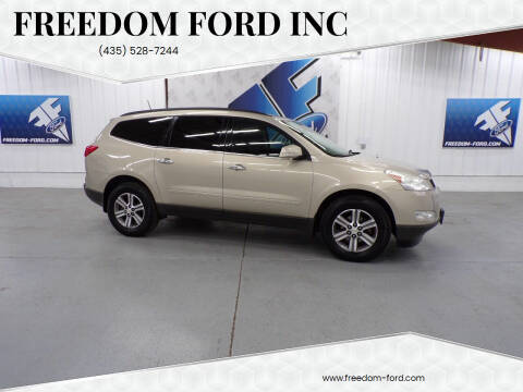 2012 Chevrolet Traverse for sale at Freedom Ford Inc in Gunnison UT