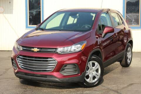 2017 Chevrolet Trax for sale at Dynamics Auto Sale in Highland IN