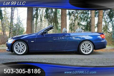 2011 BMW 3 Series for sale at LOT 99 LLC in Milwaukie OR