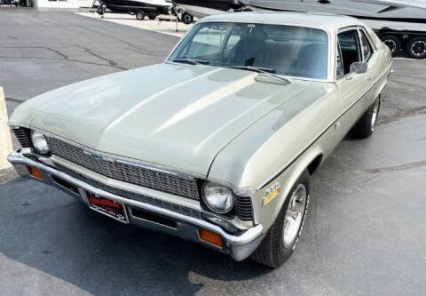 1972 Chevrolet Nova for sale at Haggle Me Classics in Hobart IN
