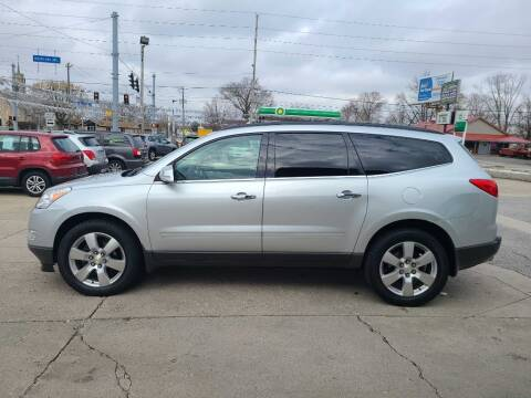 2012 Chevrolet Traverse for sale at Bob Boruff Auto Sales in Kokomo IN