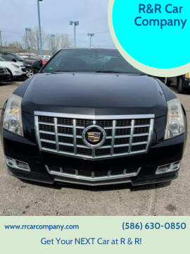 2013 Cadillac CTS for sale at R&R Car Company in Mount Clemens MI