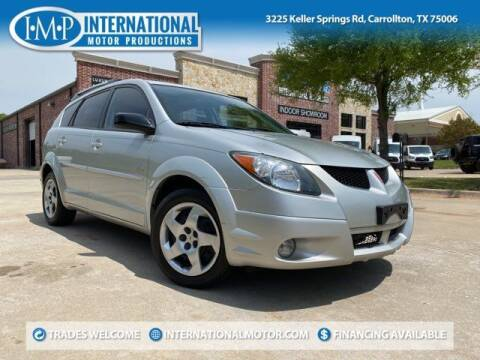 2004 Pontiac Vibe for sale at International Motor Productions in Carrollton TX