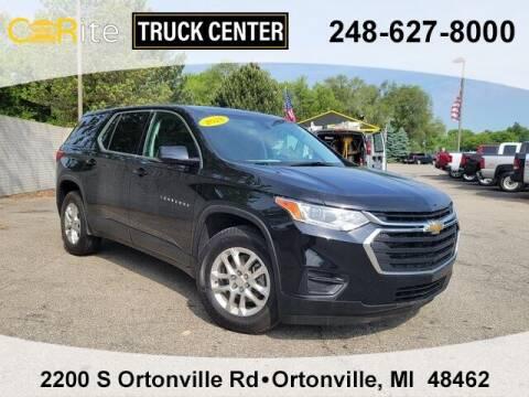 2018 Chevrolet Traverse for sale at Carite Truck Center in Ortonville MI
