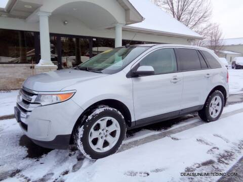 2013 Ford Edge for sale at DEALS UNLIMITED INC in Portage MI