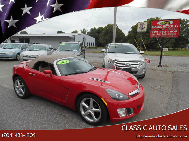 2008 Saturn SKY for sale at Classic Auto Sales in Maiden NC