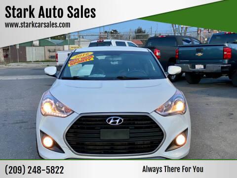 2016 Hyundai Veloster for sale at Stark Auto Sales in Modesto CA