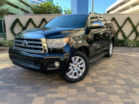 2013 Toyota Sequoia for sale at ROGERS MOTORCARS in Houston TX