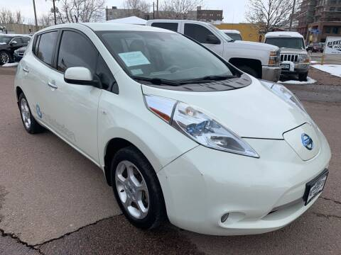 2012 Nissan LEAF for sale at BERKENKOTTER MOTORS in Brighton CO