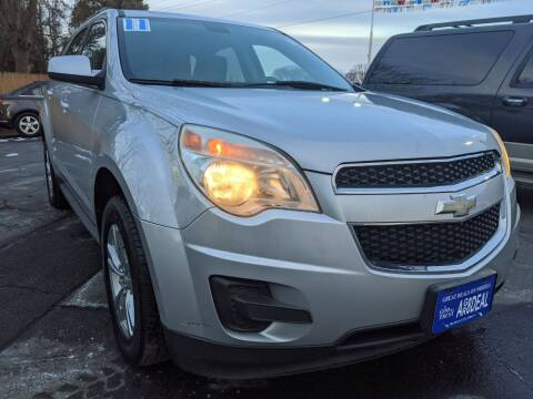 2011 Chevrolet Equinox for sale at GREAT DEALS ON WHEELS in Michigan City IN