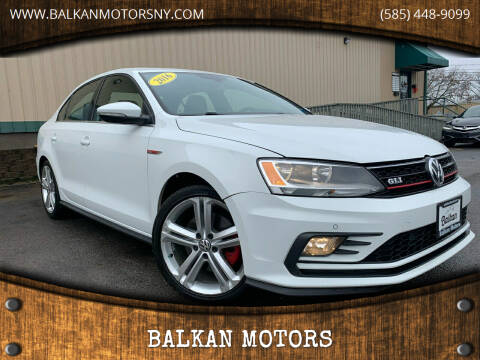 2016 Volkswagen Jetta for sale at BALKAN MOTORS in East Rochester NY
