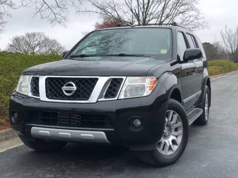 2010 Nissan Pathfinder for sale at William D Auto Sales in Norcross GA