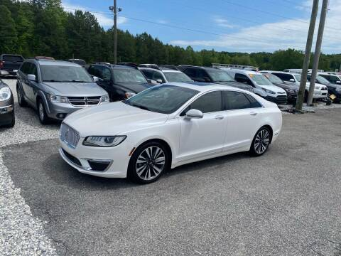 2017 Lincoln MKZ for sale at Billy Ballew Motorsports in Dawsonville GA