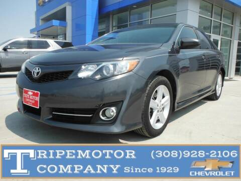 2013 Toyota Camry for sale at Tripe Motor Company in Alma NE