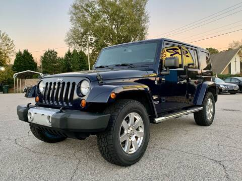 2013 Jeep Wrangler Unlimited for sale at GR Motor Company in Garner NC