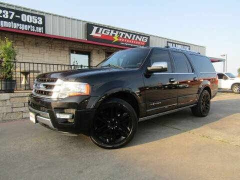 2015 Ford Expedition EL for sale at Lightning Motorsports in Grand Prairie TX