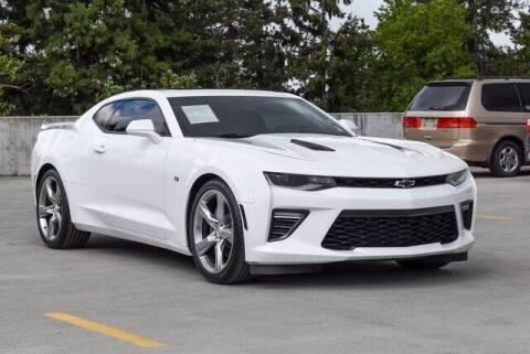 2018 Chevrolet Camaro for sale at Washington Auto Credit in Puyallup WA