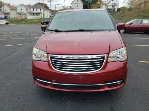 2016 Chrysler Town and Country for sale at KANE AUTO SALES in Greensburg PA
