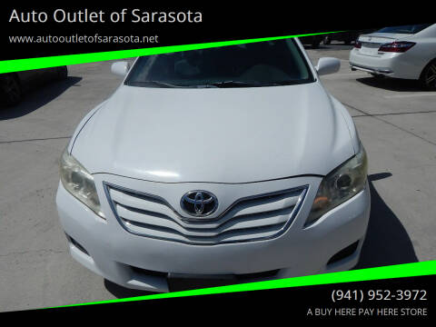 2010 Toyota Camry for sale at Auto Outlet of Sarasota in Sarasota FL