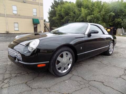 2002 Ford Thunderbird for sale at S.S. Motors LLC in Dallas GA