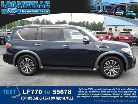 2020 Nissan Armada for sale at Loganville Ford in Loganville GA