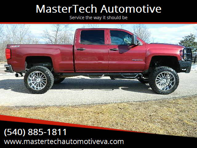 2015 Chevrolet Silverado 2500HD for sale at MasterTech Automotive in Staunton VA