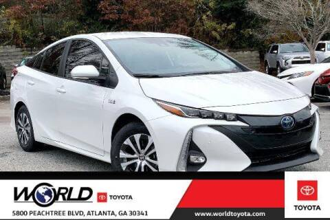 2021 Toyota Prius Prime for sale at CU Carfinders in Norcross GA