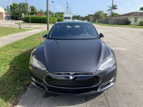 2016 Tesla Model S for sale at Eden Cars Inc in Hollywood FL