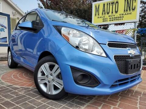 2013 Chevrolet Spark for sale at M AUTO, INC in Millcreek UT
