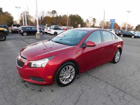 2012 Chevrolet Cruze for sale at Paniagua Auto Mall in Dalton GA